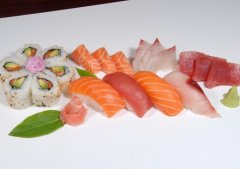三文鱼易含细菌-生吃要小心
