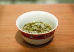 夏季饮食健康,绿豆汤别乱喝