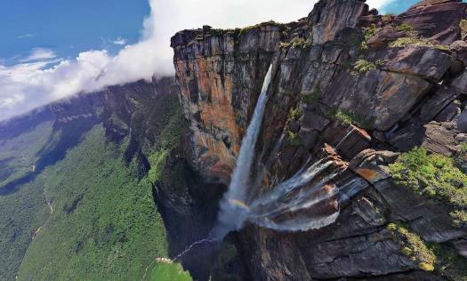委内瑞拉安赫尔瀑布