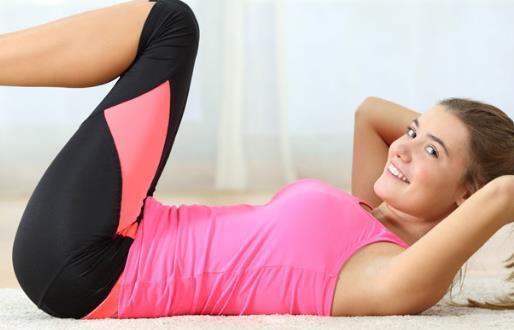 消灭囤积的脂肪 饮食和运动结合消灭肚子上的赘肉