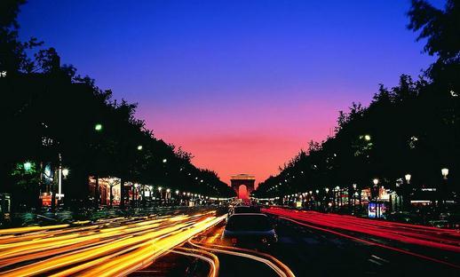 最美散步大道:巴黎香榭丽舍大道