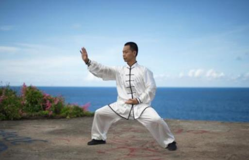 练太极拳的关键在于练本不练标