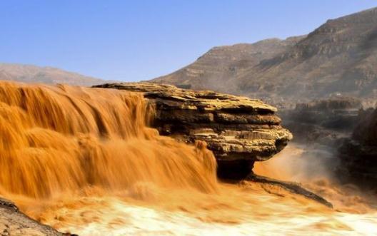 冬季到壶口来看瀑布